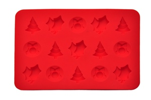 Chrismas silicone ice tray exported America by Hanchuan exclusive design!
