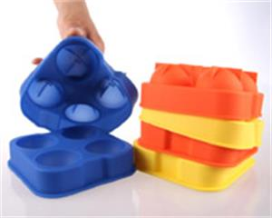 Hanchuan silicone ice ball tray continued hot-selling, in December it has sold more than 100000 pieces