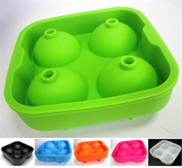 How to use your food grade reusable ice cube to make 2 inches round sphere ball.