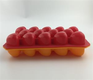 Make healthy fun treats for the kids with OEM silicone heart shaped ice tray!
