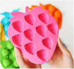 Fruit shape silicone ice tray_Safe tool in kitchen for children to have fun family time with parents.
