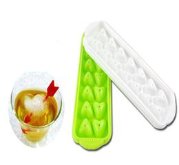 Hanchuan silicone ice tray pops out one ice cube at a time.