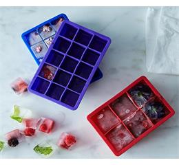 Can you make popsicle snacks?Need square silicone ice cube tray?