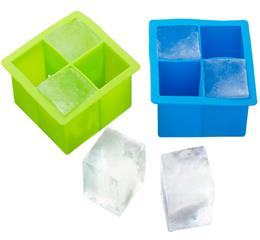 5 ways for you to make ice cubes with Hanchuan newly recommend creative silicone ice tray!