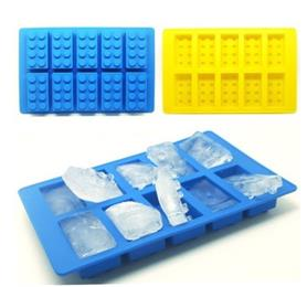 Lego silicone ice tray_ Children's Day to give the children fresh and creative gifts