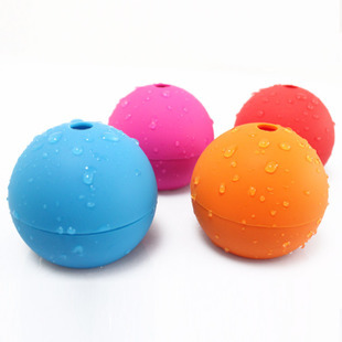 Exporting high-end French coffee shop creative silicone ice ball, private custom from Hanchuan