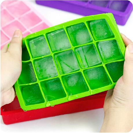 Custom ice cube tray, made of silicone, safe?