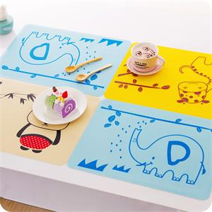 Compared with plastic products, will silicone placemat products have any characteristics?