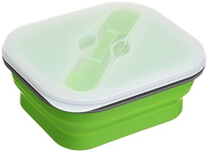 How about silicone lunch box?Will it be helpful when you have lunch?
