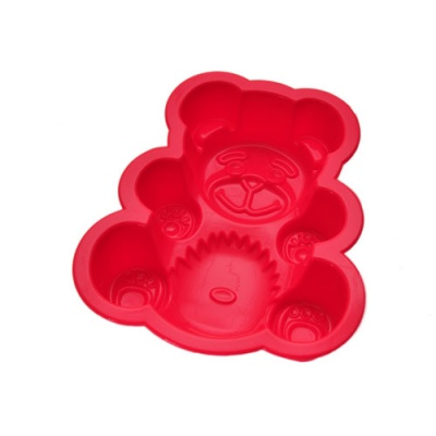 100% Food-Grade Bear Shape Silicone bakeware