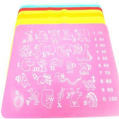 kids silicone placemat by Hanchuan
