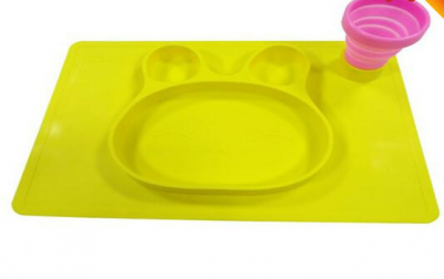 latest fashion design silicone placemats baby