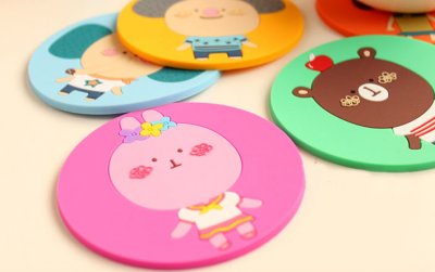 silicone anti-slip coaster