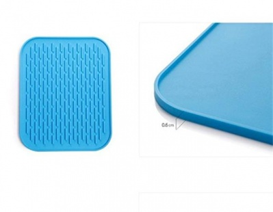 Silicone antiskid heat insulation pad