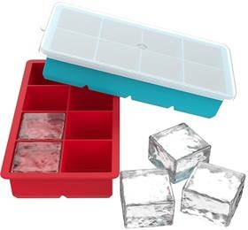 easy release silicone ice cube tray for cocktail