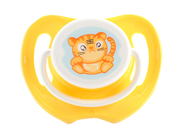 Hot Selling transparent PP&silicone baby pacifier