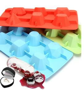 develop a silicone ice grid