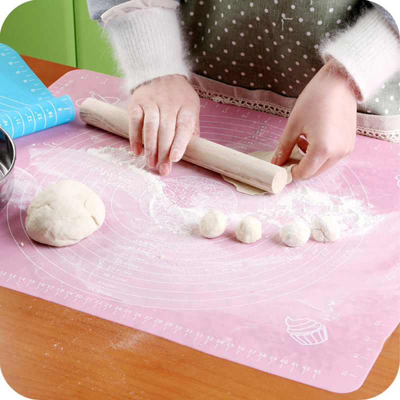 Large baking silicone pad