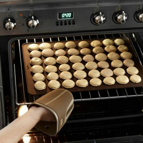 Silicone macaron pastry oven baking sheet mat