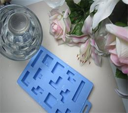 geometry graphics silicone ice cube tray