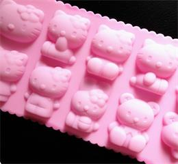 hello kitty silicone ice mould