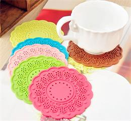 fashion silicone cup mat