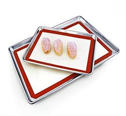 nonstick reusable silicone glassfiber mat