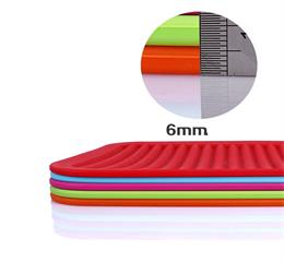 Silicone coloring heat resistant table mat