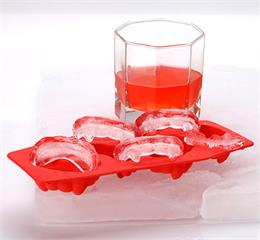 silicone teeth ice cubes