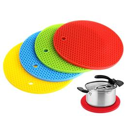 Fashionable kitchen silicone heat-resistant mats