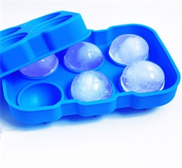 OEM ball shape silicone ice tray