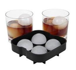 ball shape silicone ice tray