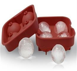 4 holes silicone ice ball