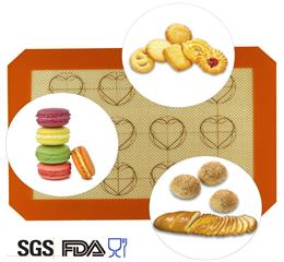 non-stick rolling glass fiber silicone baking mat