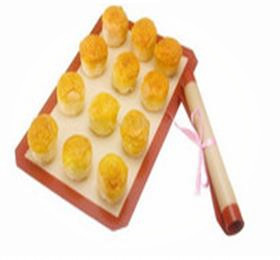 heat resistant silicone glass fiber baking mats