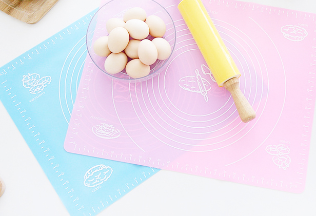 extra large silicone baking mat for pastry rolling with measurements