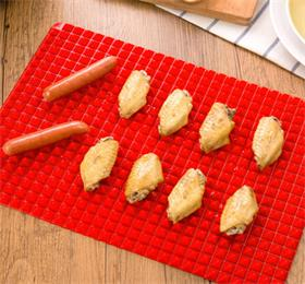 pyramid pan silicone non stick baking mat for healthy cooking