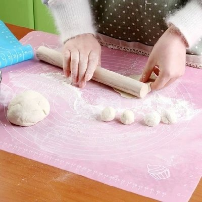 silicone baking mat with measure non stick non slip