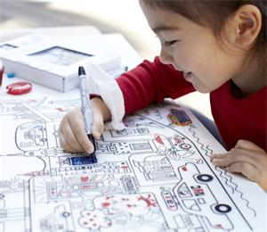 baby mark-mat silicone coloring placemat