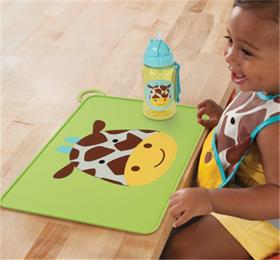 baby zoo food-grade silicone placemat