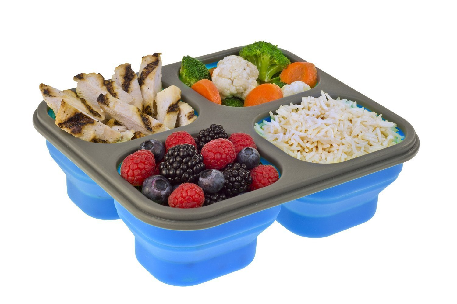 collapsible bento lunch box