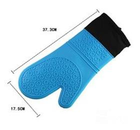 silicone kitchen glove with inner cotton layer