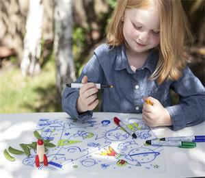fda approved kids silicone coloring placemat