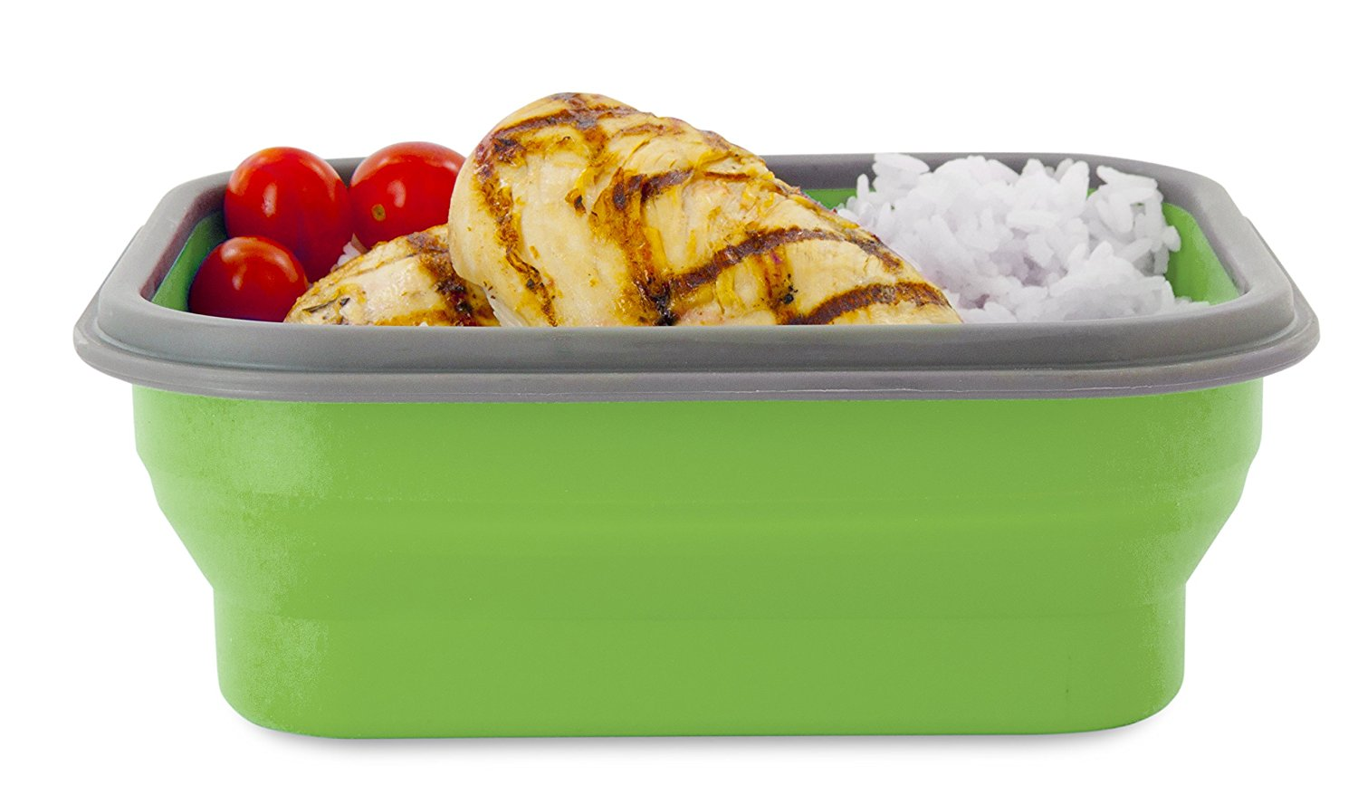 hot selling Food grade silicone bento lunch box